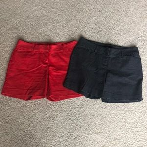 2 pair Size 6The Limited shorts.Like new condition
